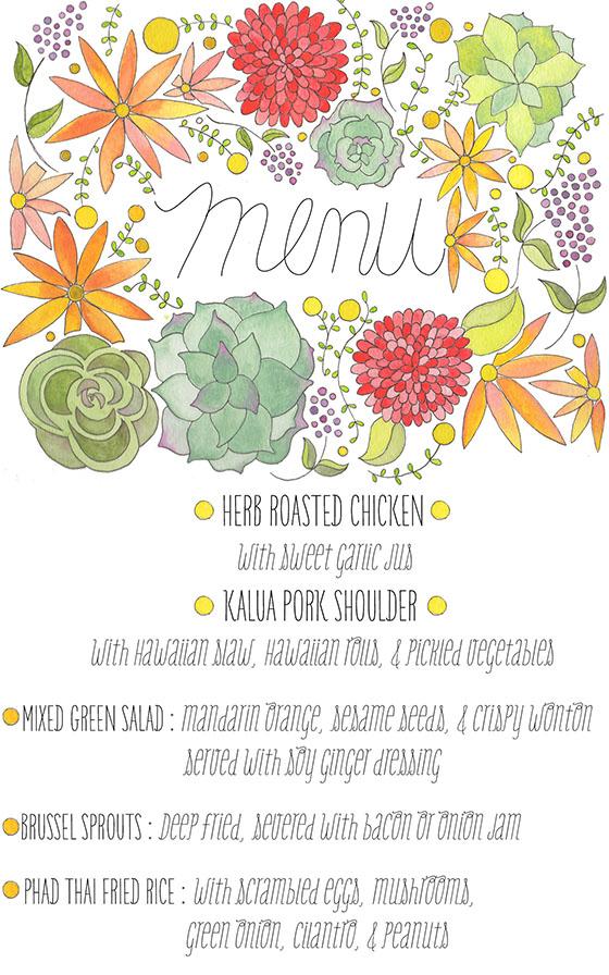 peached menu blog