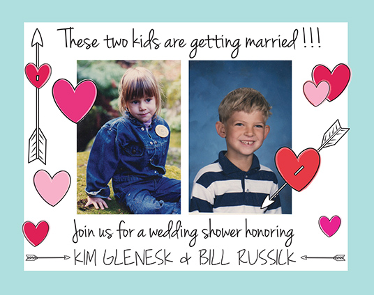WeddingShower Invites