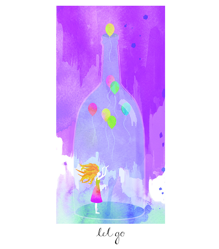 let go poster 11x14